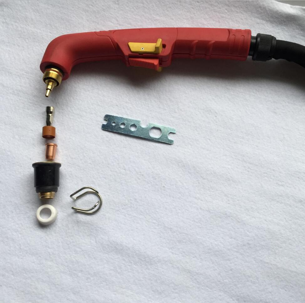 Trafimet S75 plasma cutting torch and parts